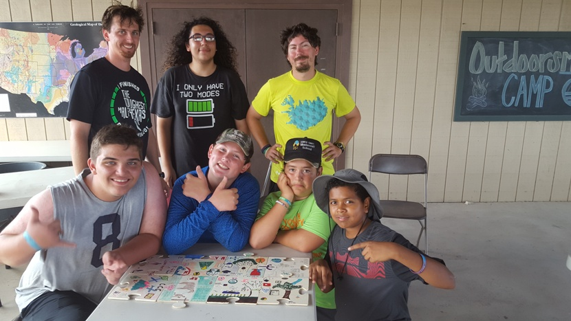 OutdoorsMEN with all of our Puzzles