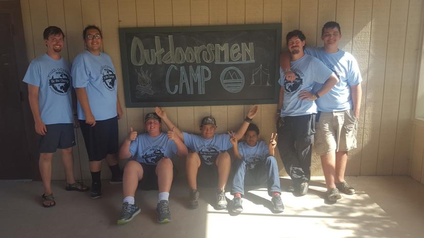 OutdoorsMen Camp Last Day