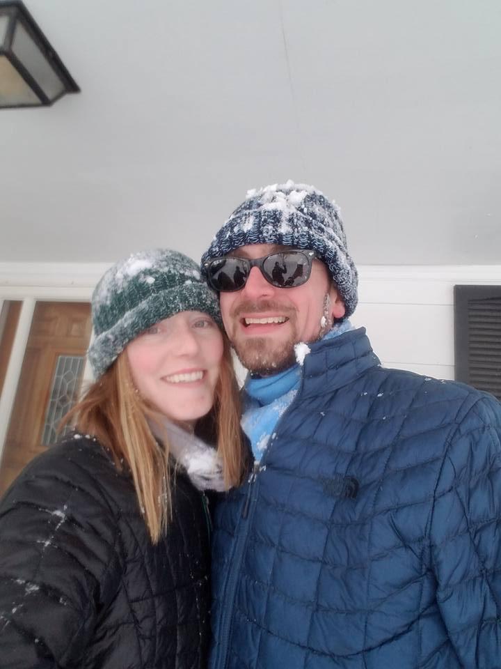 Kelsie and her fiance Robert
