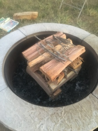 Campfires: Upside Down fire