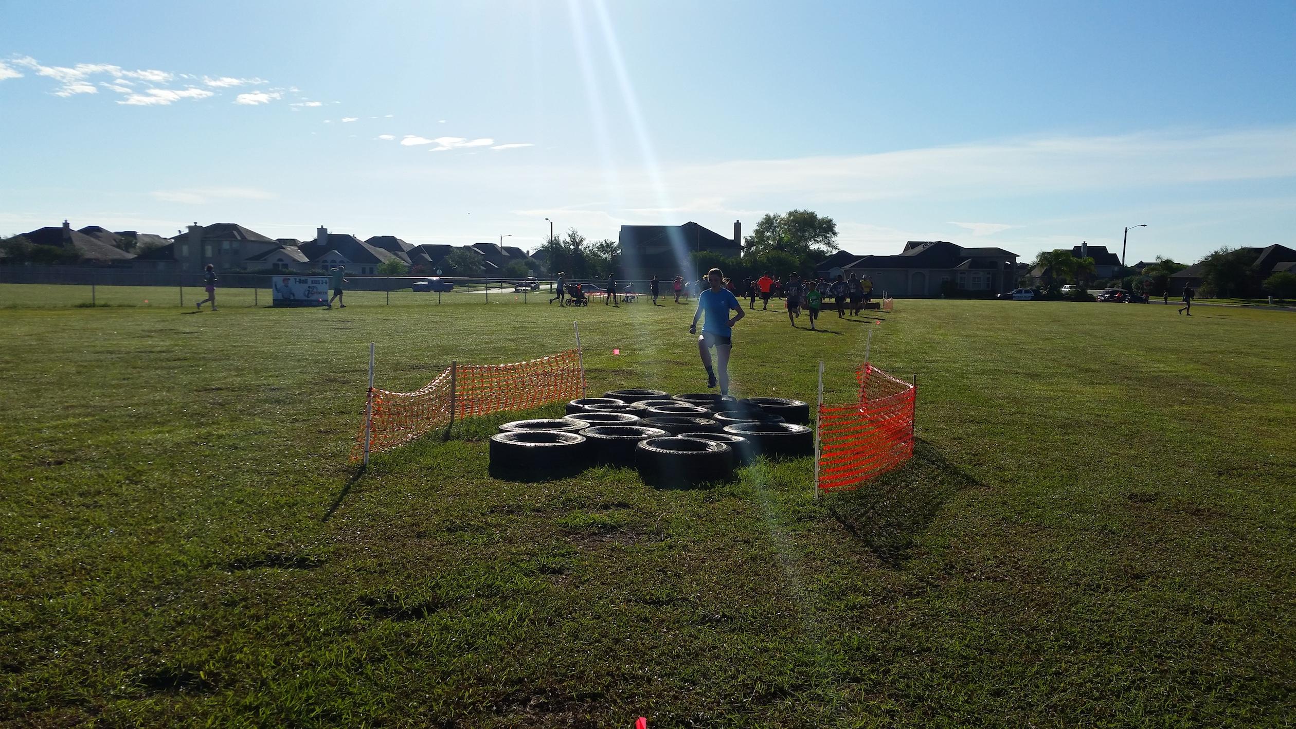 King's challenge 5k tire run