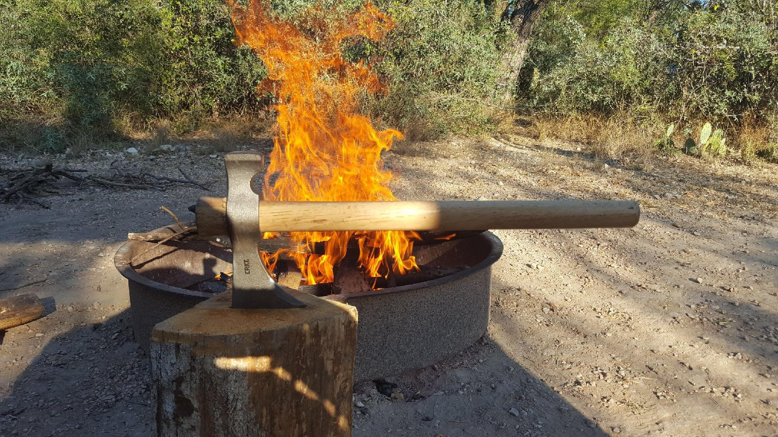 Campfires and hatchets