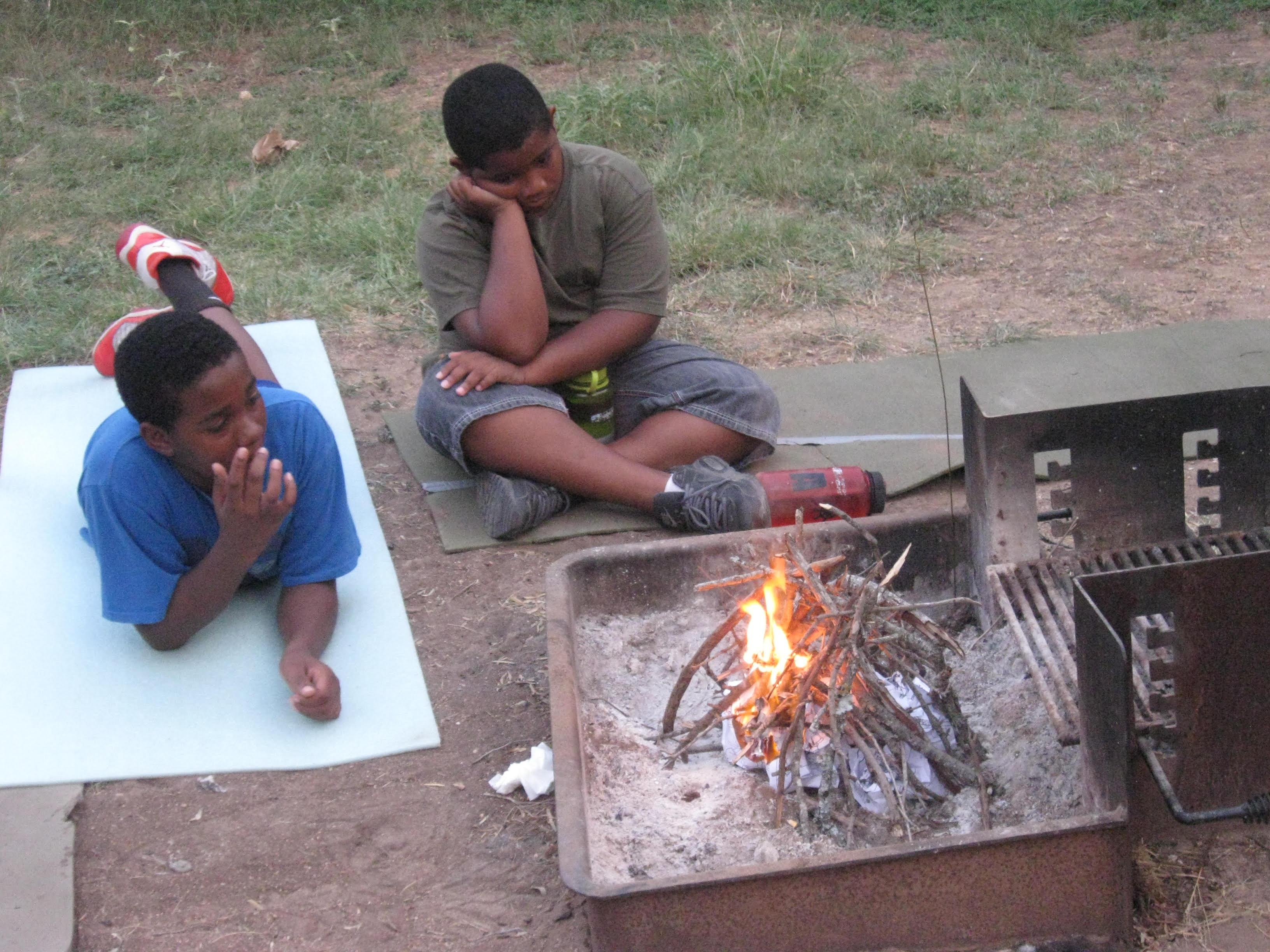 Campfires: tipi