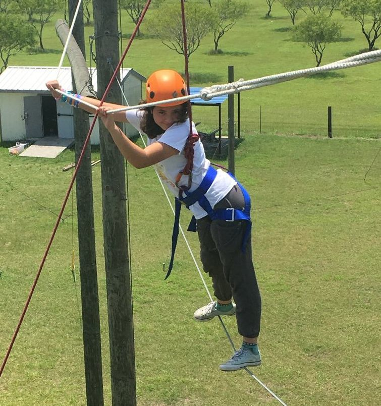 The Why: Empowered at the ropes course