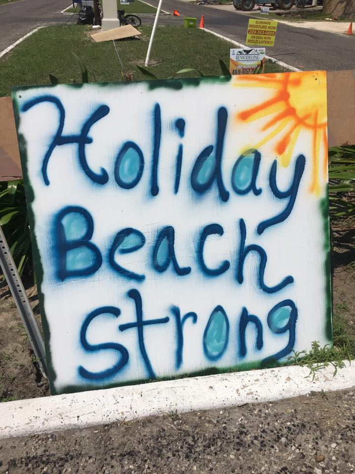 Hurricane Harvey Cleanup: Holiday Beach Strong