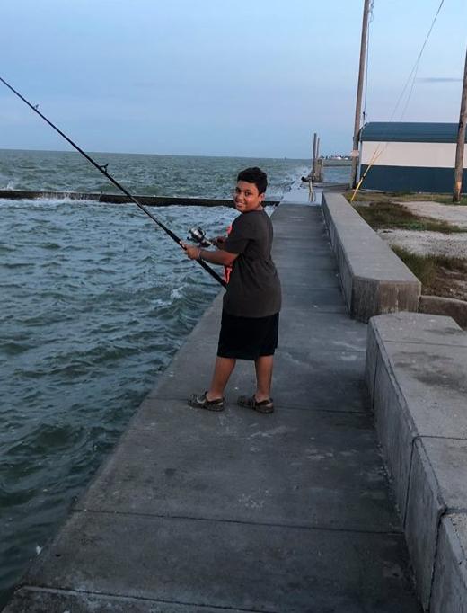 Xavier fishing