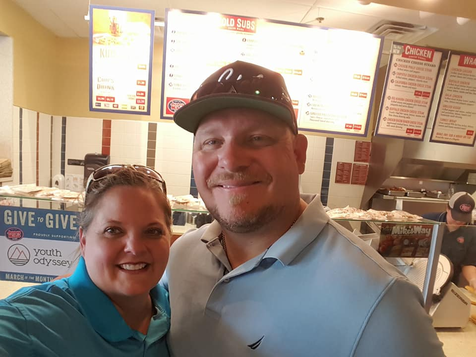 Jersey Mike's gives to Youth Odyssey