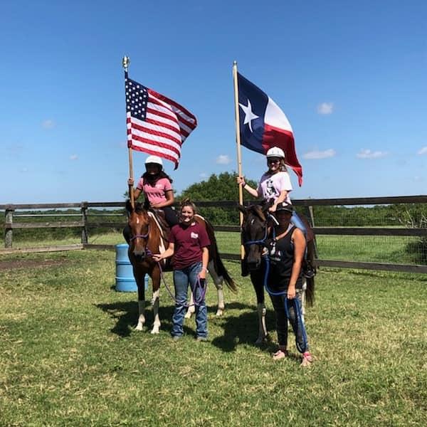 Living local horseback riding