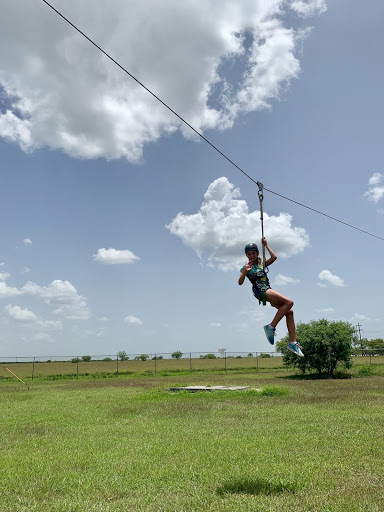 Outdoor Adventure ropes course